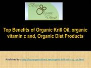 Top Benefits of Organic Krill Oil, organic