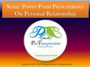 Some Power Point Presentations On Personal Relationship