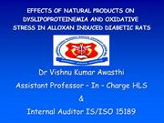Dr Vishnu Kumar Awasthi Research work , Era Medical College