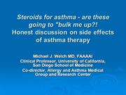 Side Effects of Inhaled Steroids-Mike 4.22.13