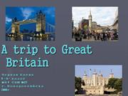 A trip to Great Britain