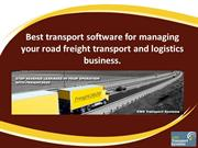 Transport Software | Logistics Software | Fleet Management Software