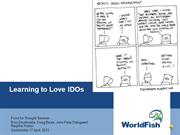Learning to Love IDOs