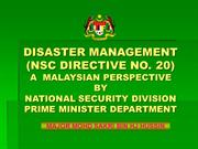 disaster__management_nsc_directive_no_20