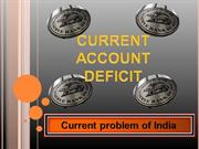Curent account deficit