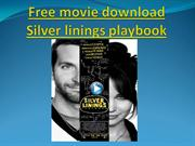 Free movie download Silver linings playbook