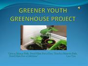 Greener Youth GREEN House