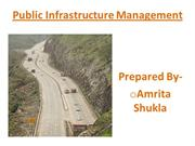 PPT OF INFRASTRUCTURE