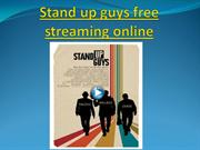 Stand up guys free streaming online