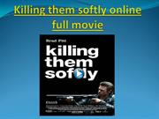 Killing them softly online full movie
