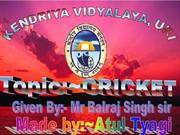 everything of cricket in one PPT