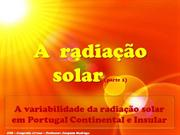 Radiao solar- o espetro solar