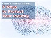 5 Ways to Protect Your Identity