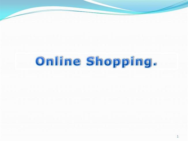 online shopping divya ppt presentation authorstream