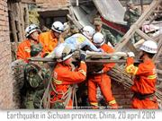 Earthquake in China  -  20 april 2013