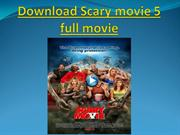 Download Scary movie 5 full movie