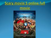 Scary movie 5 online full movie