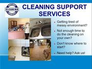 Why choose CLEANING SUPPORT SERVICES?