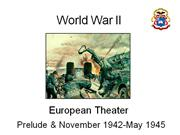 World war II European Theatre