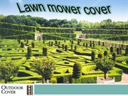 Lawn mower cover