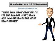 fish oil with dha and epa for good heart health
