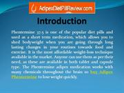 How Phentermine 37.5 mg Help to Reduce Obesity.