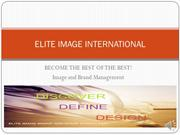 ELITE IMAGE INTERNATIONAL MENTORSHIP PROGRAM