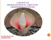 Review on Medicinal Values of Elephant foot yam
