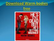 Download Warm bodies free