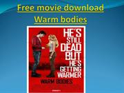 Free movie download Warm bodies