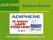 Adiphene Pill Reviews
