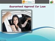 Guaranteed Approval Car Loan