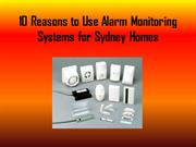 10 Reasons to Use Alarm Monitoring Systems
