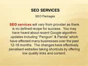SEO Services |  SEO Packages