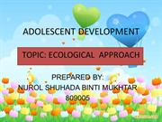 presentation of adolescent