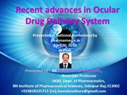 Recent Advances in Ocular Drug Delivery Systems