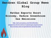 Hendren Global Group News Blog
