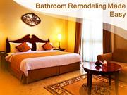 Bathroom Remodeling Done Affordably