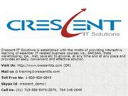 Crescent IT Solutions Received Valuable Feedback on SAP FICO Course