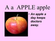 Copy 1 A a  APPLE apple