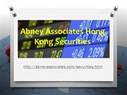 Abney Associates Hong Kong Securities