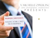 business card slideshow