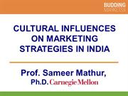Cultural Influences on Marketing Strategies in India