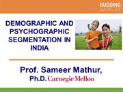 Demographic and Psychographic Segmentation in India
