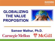 Globalizing the Value Proposition