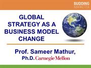 Global Strategy as a Business Model Change