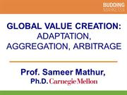 Global Value Creation