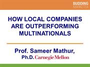 How Local Companies are Outperforming Multinationals