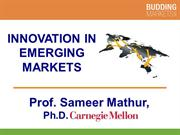 Innovation in Emerging Markets