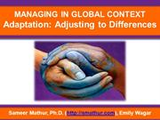 Managing Global Context via Adaptation